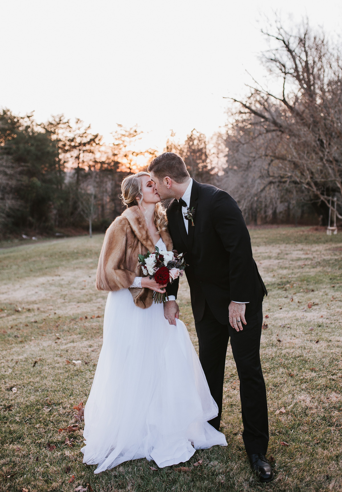 Charming December Winter Wedding | Kayli LaFon Photography | Greensboro Winston-Salem, NC Wedding Photographer