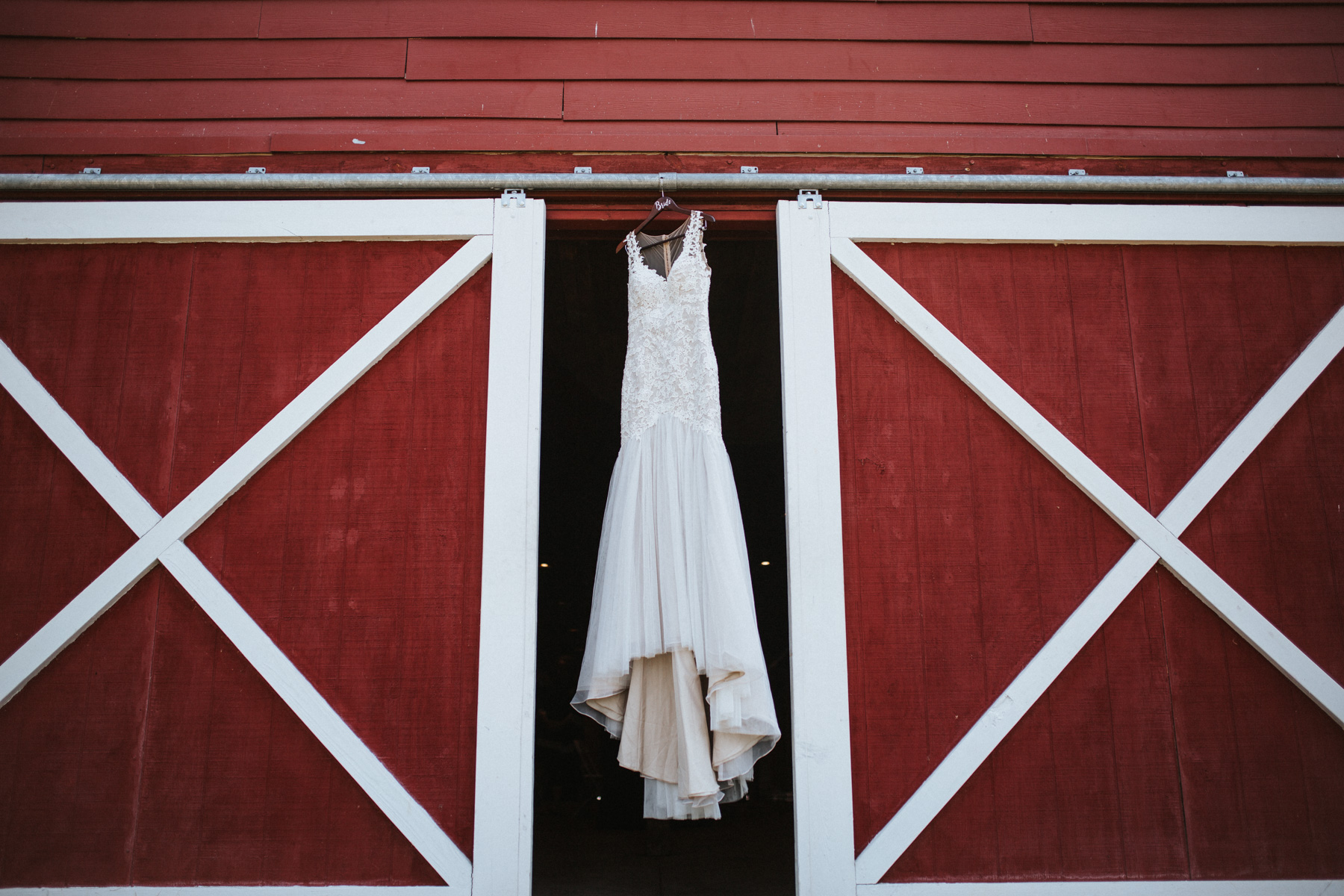 Wedding Gown at Millikan Farms, Sophia NC | Kayli LaFon Photography