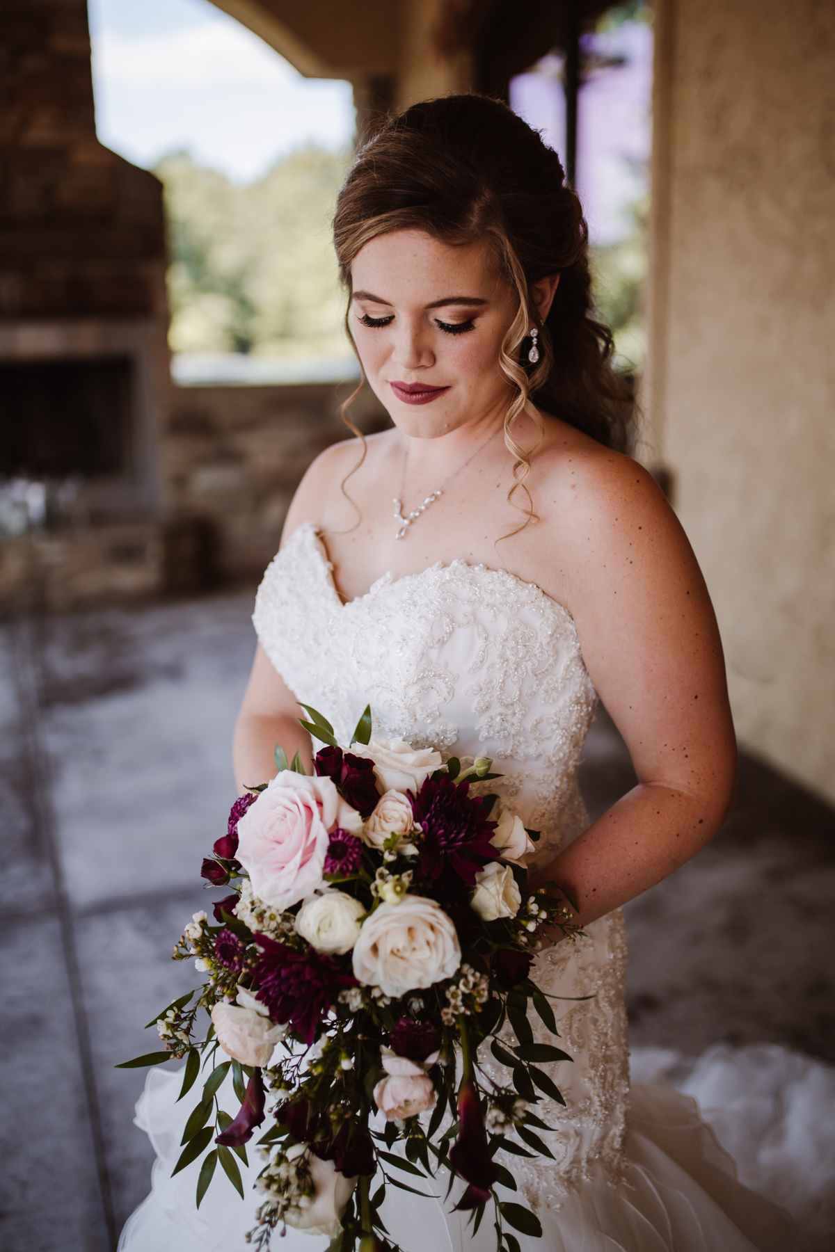 Bella Collina Mansion bridal portraits by Kayli LaFon Photography | Greensboro Winston-Salem, NC