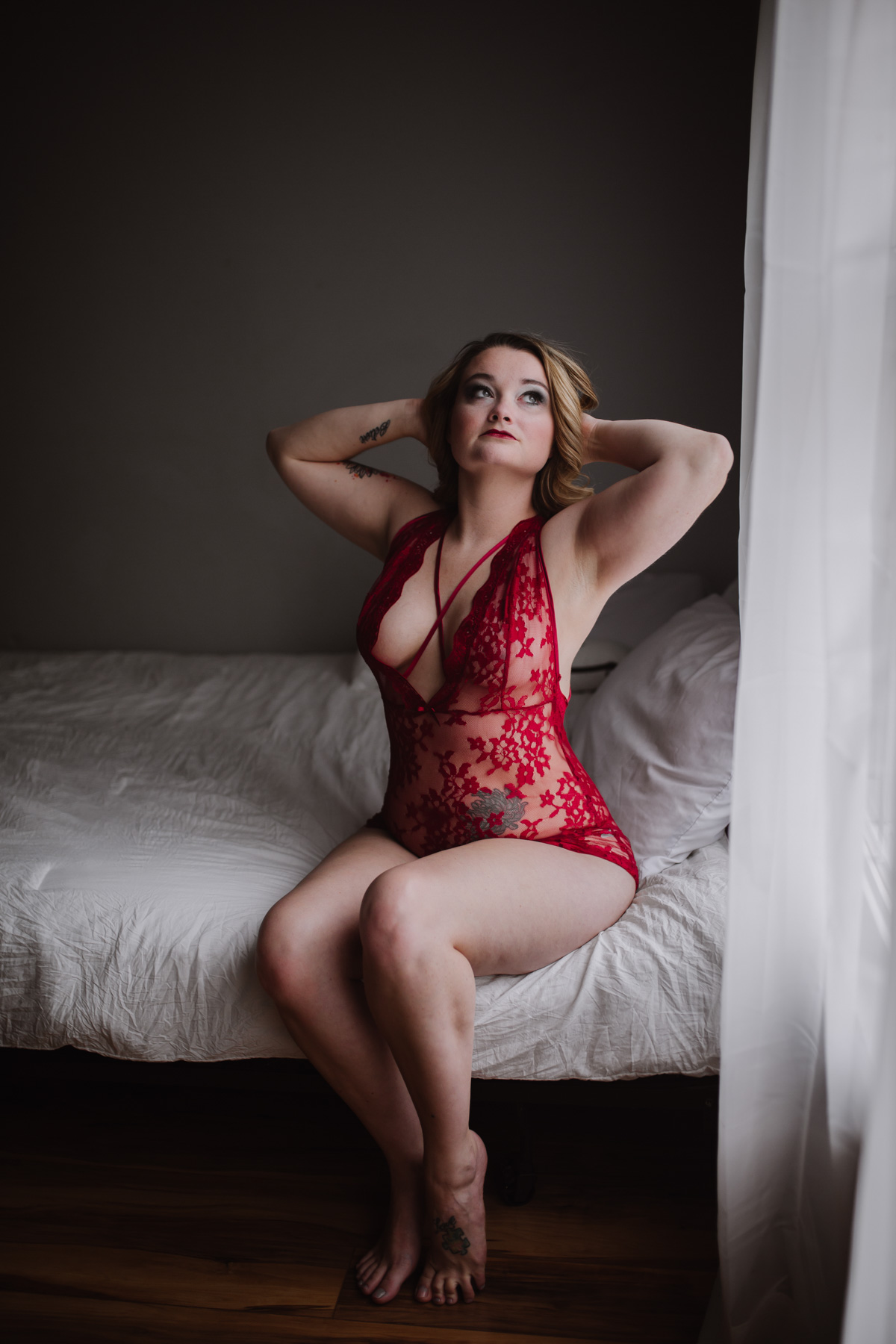 Boudoir Photography Session by Greensboro Winston-Salem Photographer