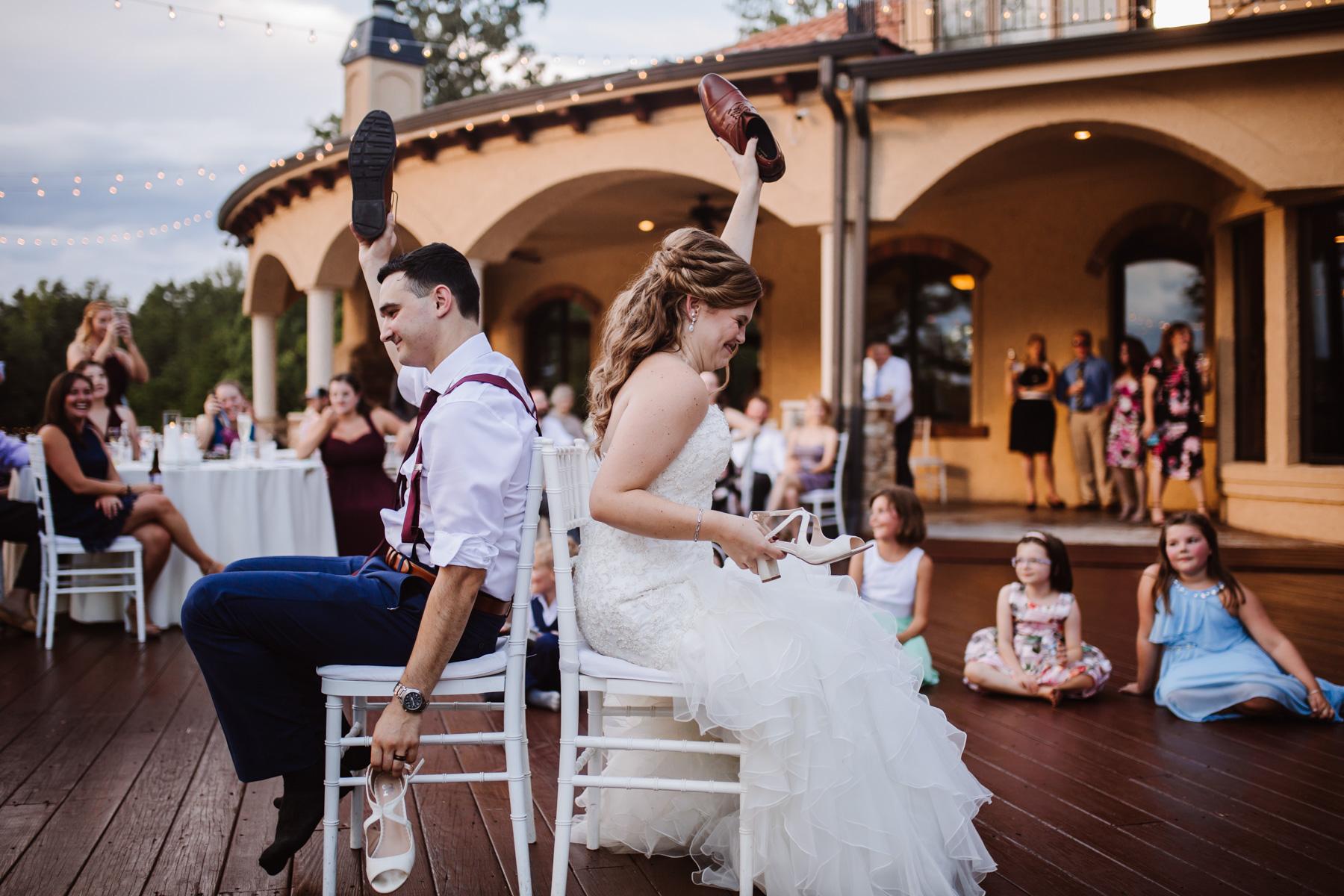 Bella Collina Wedding Reception | Kayli LaFon Photography, Greensboro Winston-Salem NC Photographer