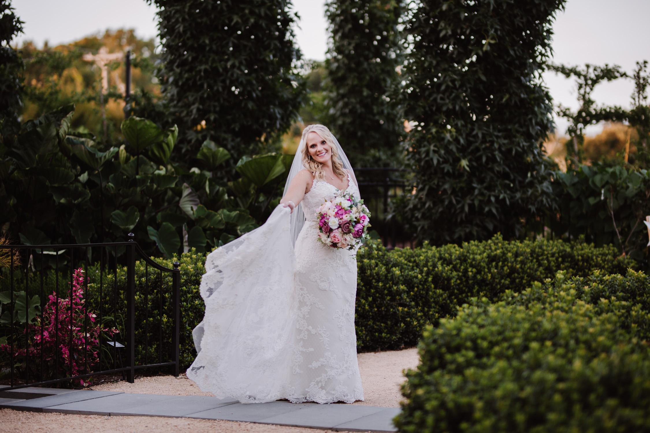 Kristina's Garden Bridal Portraits