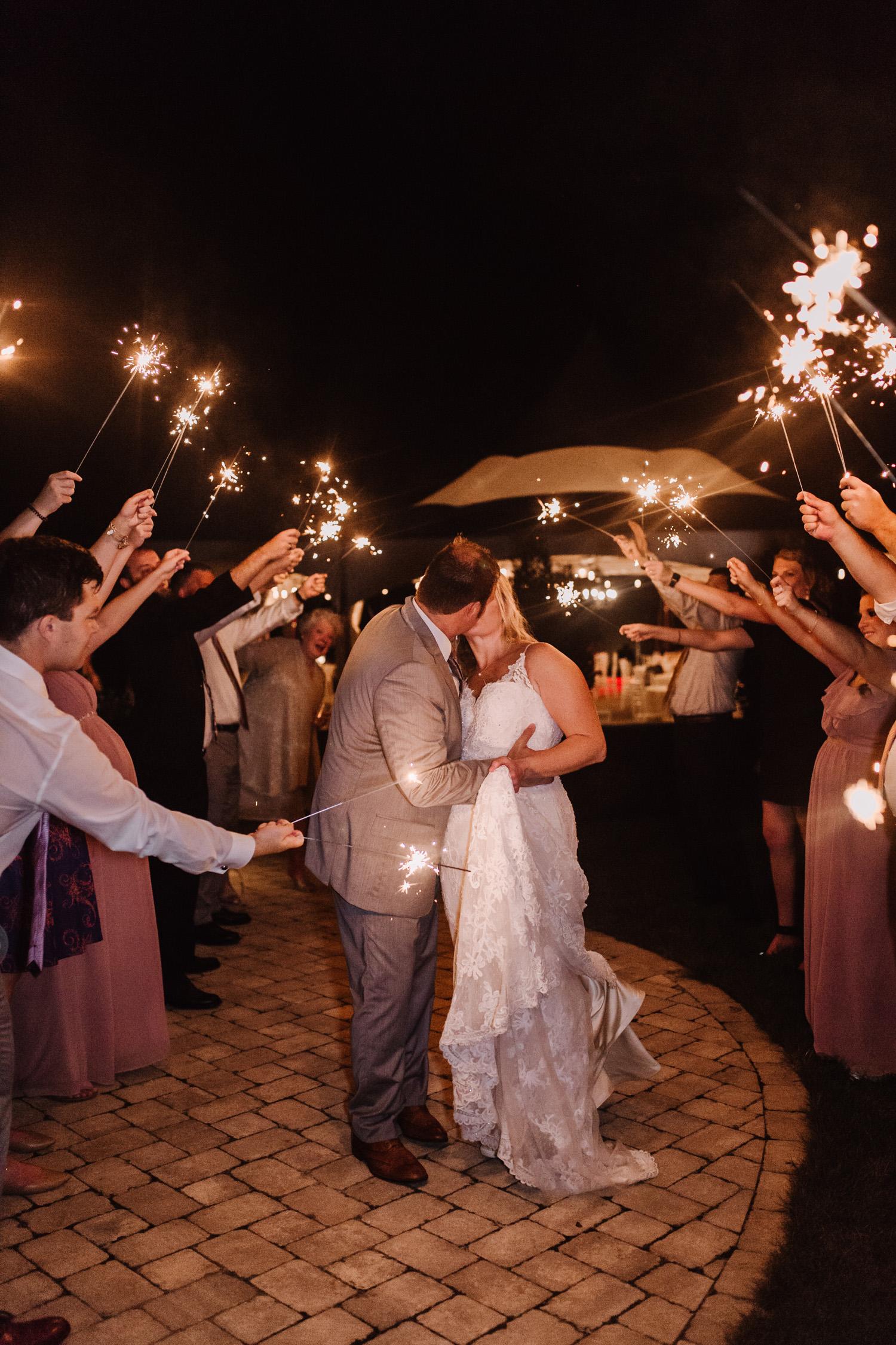 Wedding Reception details by Kayli LaFon Photography | Greensboro Winston-Salem, NC Wedding Photographer | The Hideaway at Crooked Creek, Whitsett