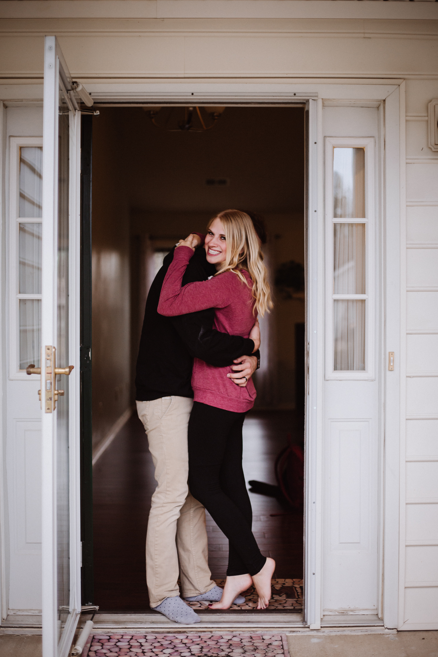 in home couples lifestyle session   High Point Photographer   Kayli LaFon Photography