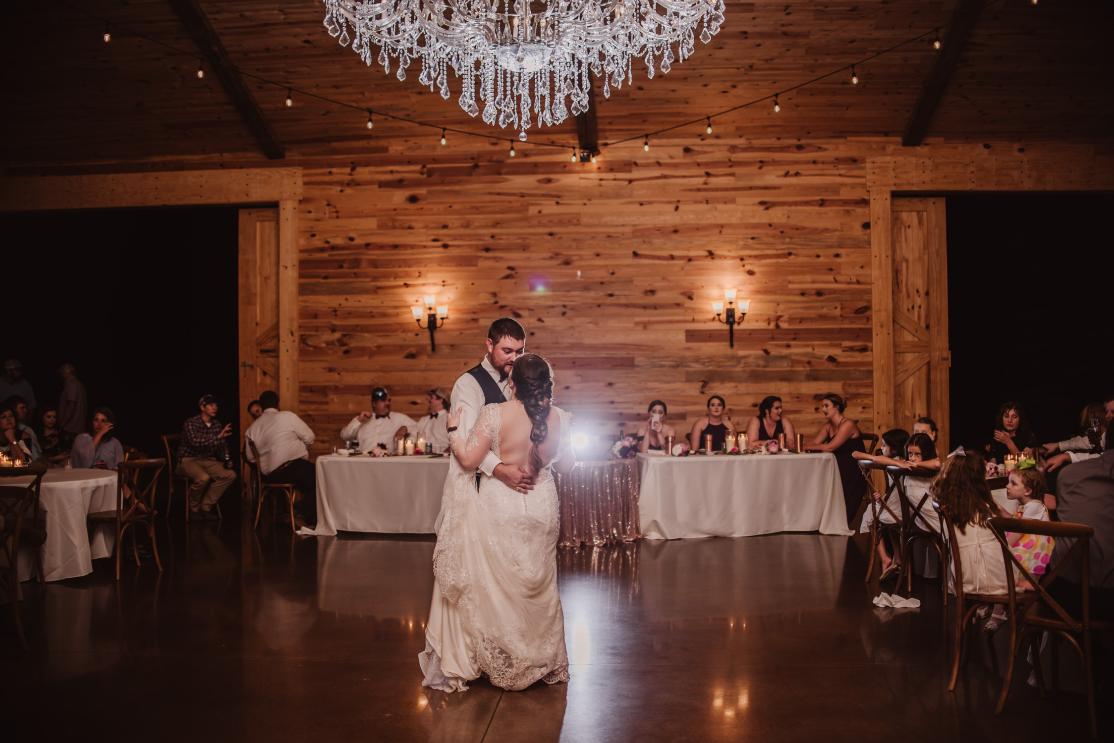 Classy, Southern, Country Wedding | Reception at Atkinson Farms in Danville, Virginia | Greensboro Winston-Salem, NC Wedding Photographer