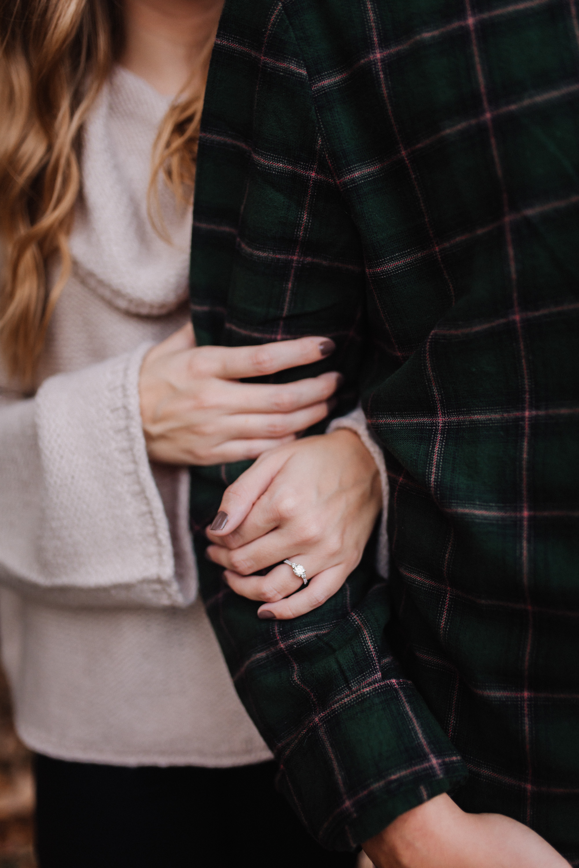 Fall Engagement Session at Timberlake Earth Sanctuary | Greensboro Winston-Salem, NC Wedding Photographer