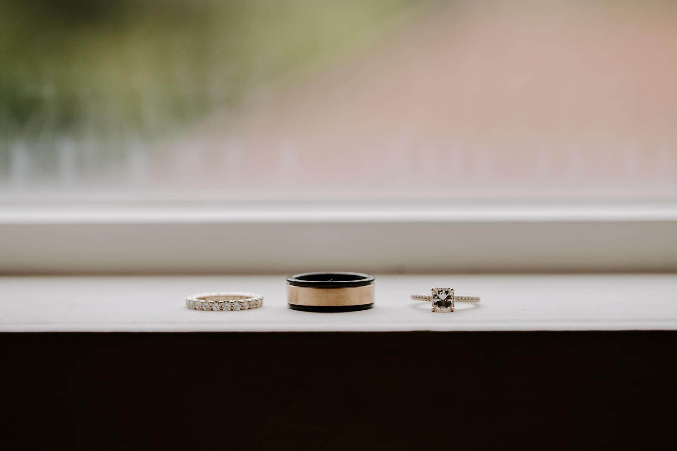 Rainy Bella Collina Wedding Details | Kayli LaFon Photography, Greensboro Winston-Salem NC Wedding Photographer
