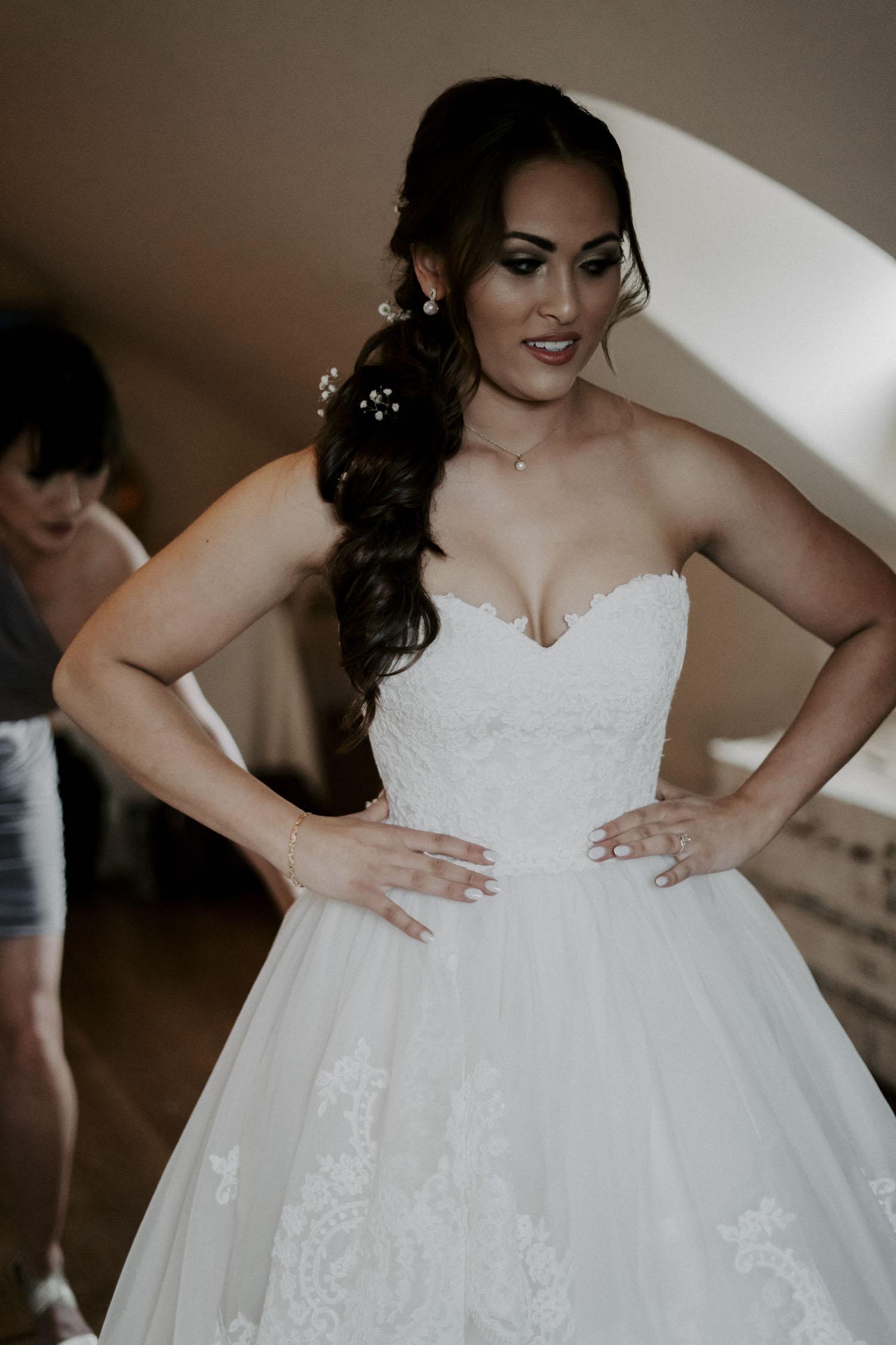 Rainy Bella Collina Wedding getting ready details | Kayli LaFon Photography, Greensboro Winston-Salem NC Wedding Photographer
