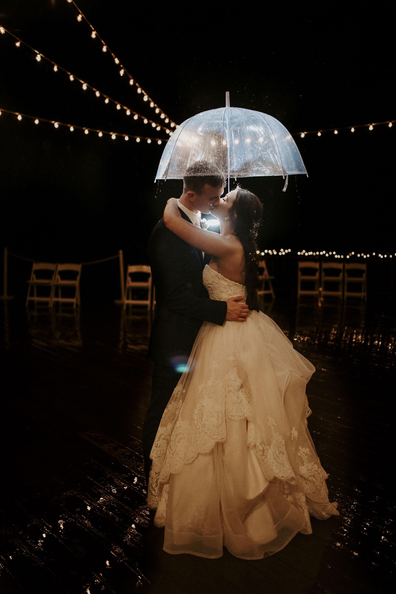 Rainy Bella Collina Wedding - Reception dancing | Kayli LaFon Photography, Greensboro Winston-Salem NC Wedding Photographer
