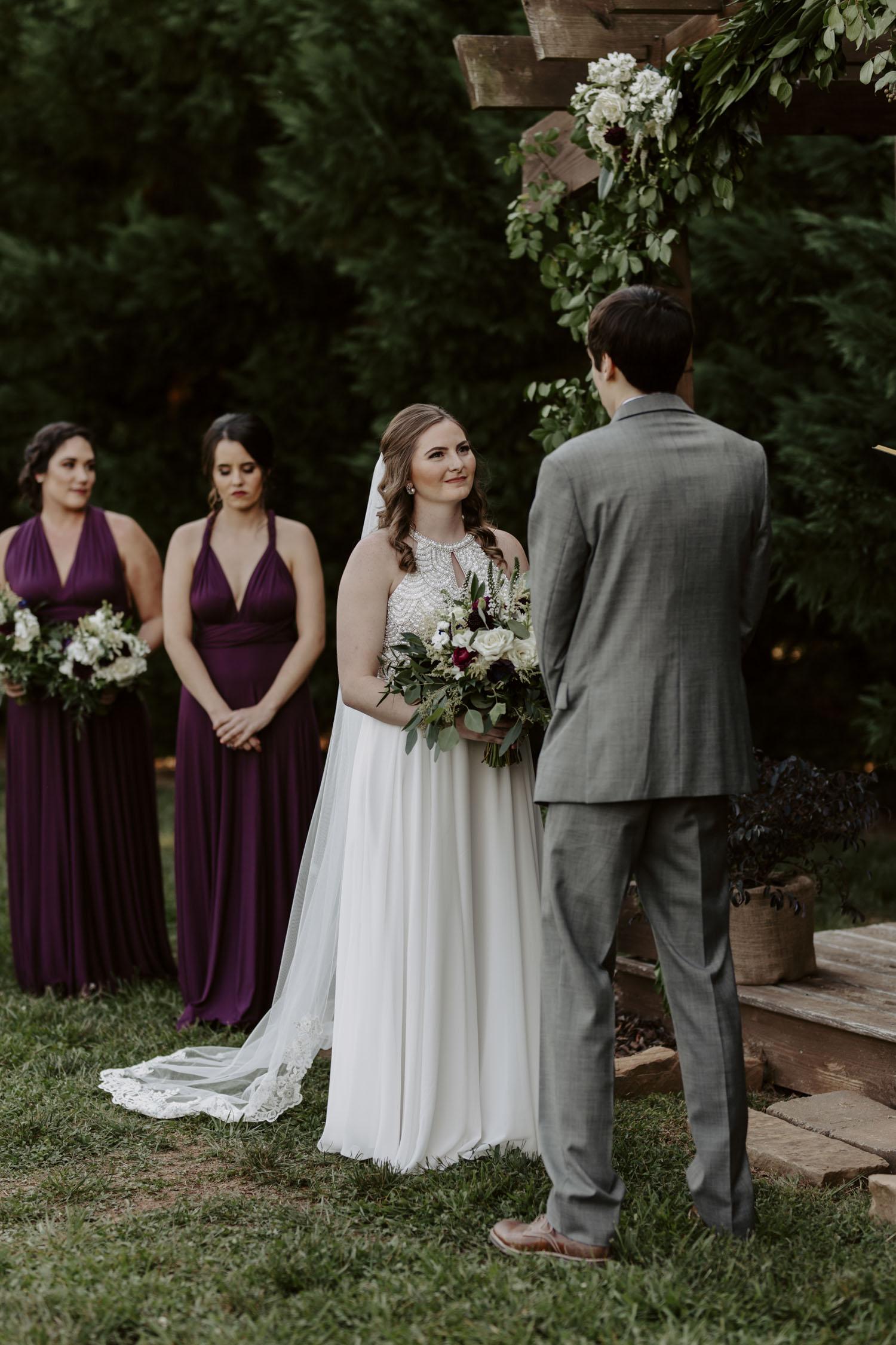 Chapel Hill Wedding Ceremony | Kayli LaFon Photography, North Carolina Intimate Wedding Photographer
