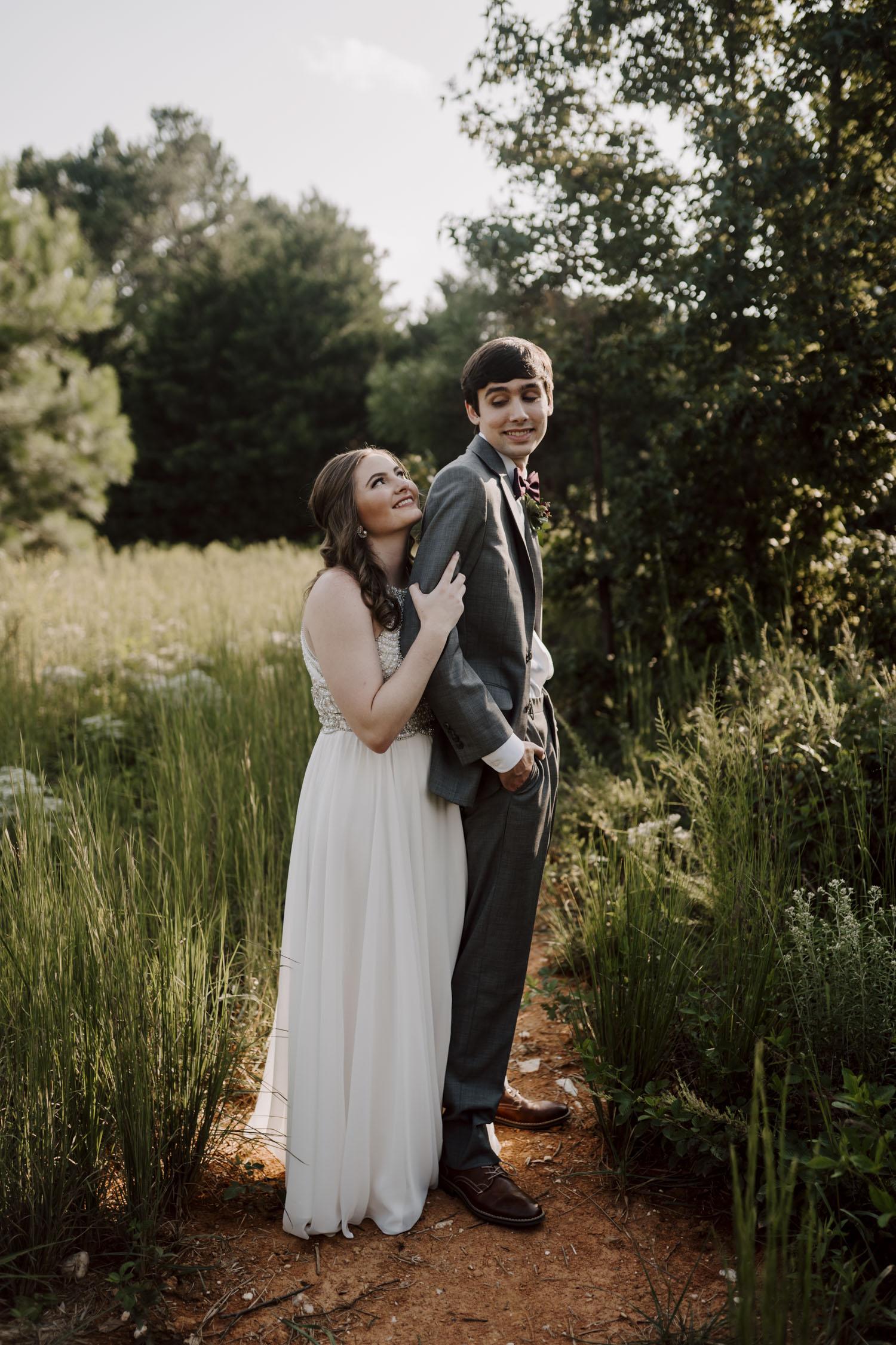 Chapel Hill Wedding bride and groom portraits | Kayli LaFon Photography, North Carolina Intimate Wedding Photographer