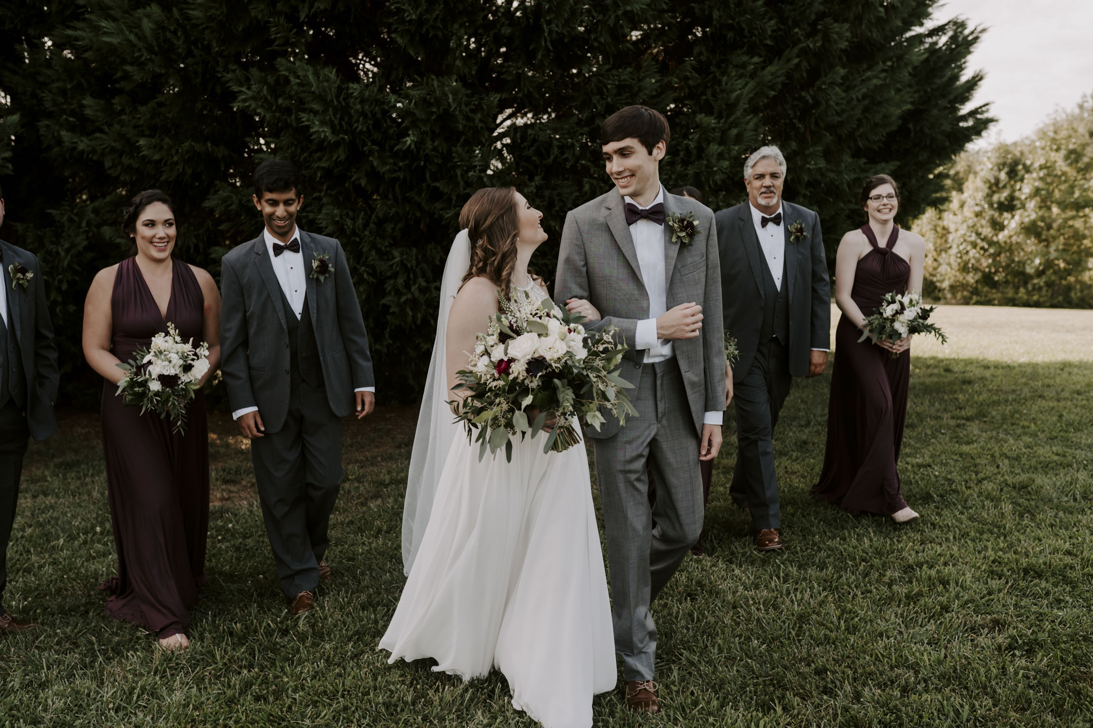 Chapel Hill Wedding Party Portraits | Kayli LaFon Photography, North Carolina Intimate Wedding Photographer