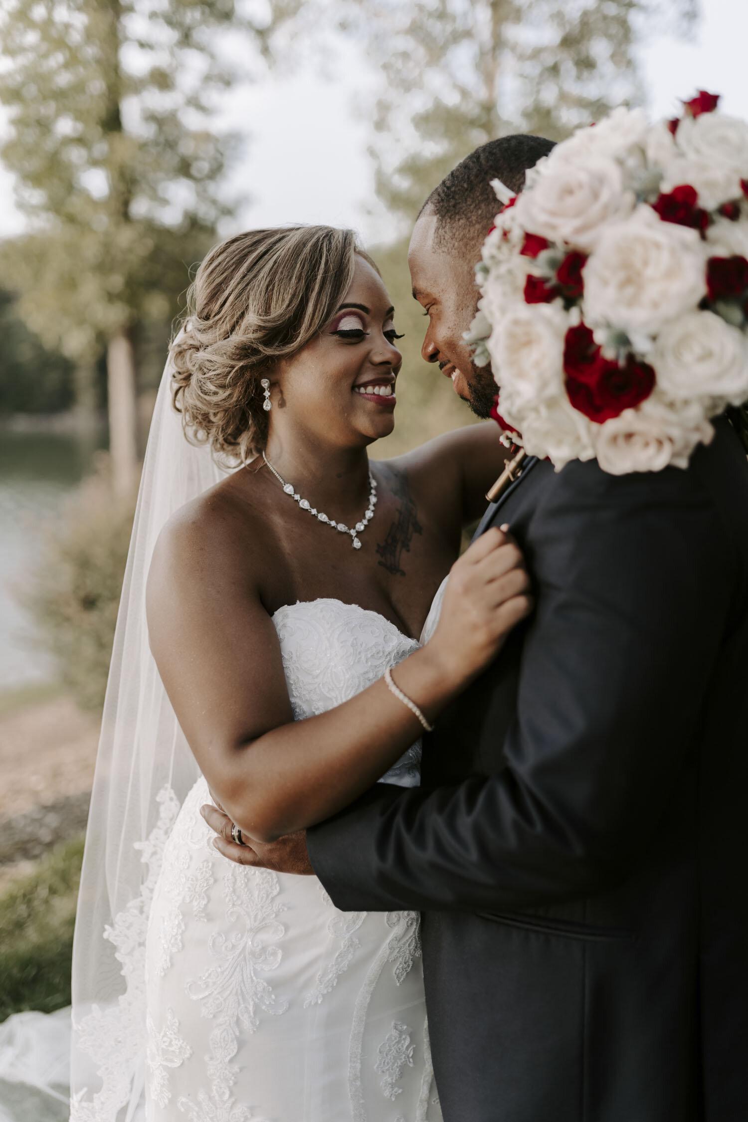 Romantic Fall Wedding at Bella Collina Mansion by Kayli LaFon Photography | Triad Area, North Carolina Wedding & Elopement Photographer