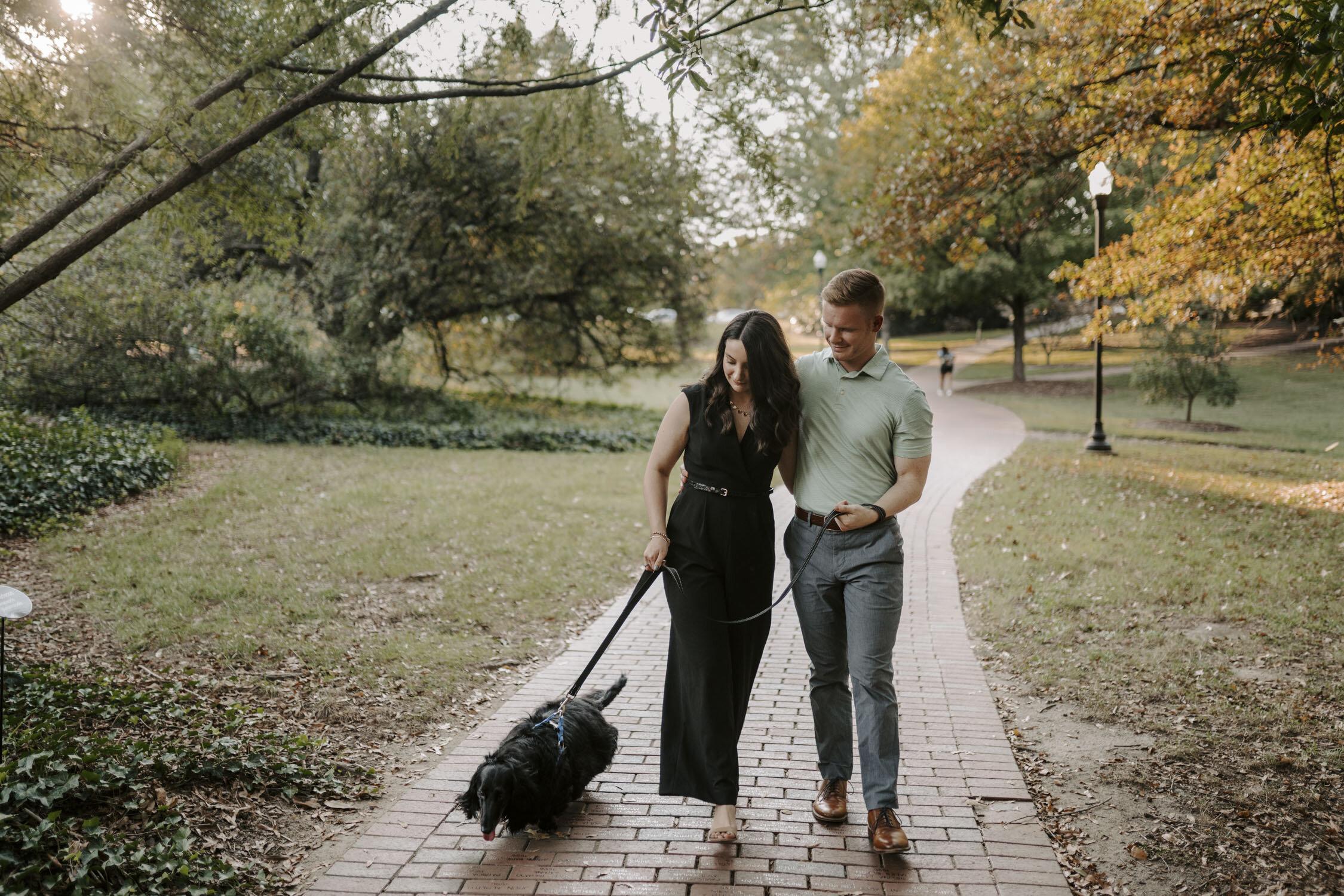 UNCG Engagement Session by Kayli LaFon Photography | Greensboro Winston-Salem, NC Wedding & Elopement Photographer