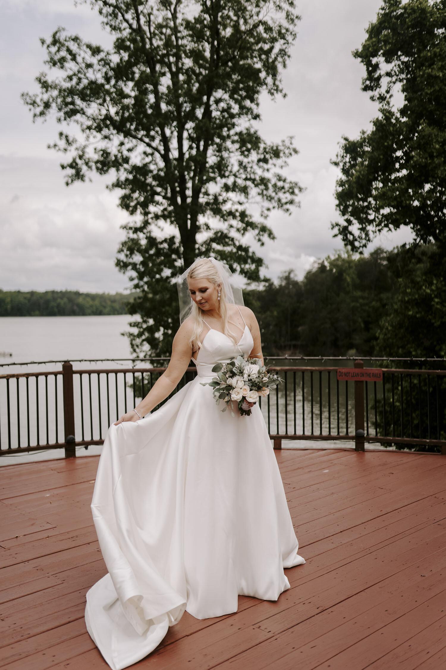 Bridal Portrait Session by Kayli LaFon Photography | Greensboro Winston-Salem NC Wedding Photographer