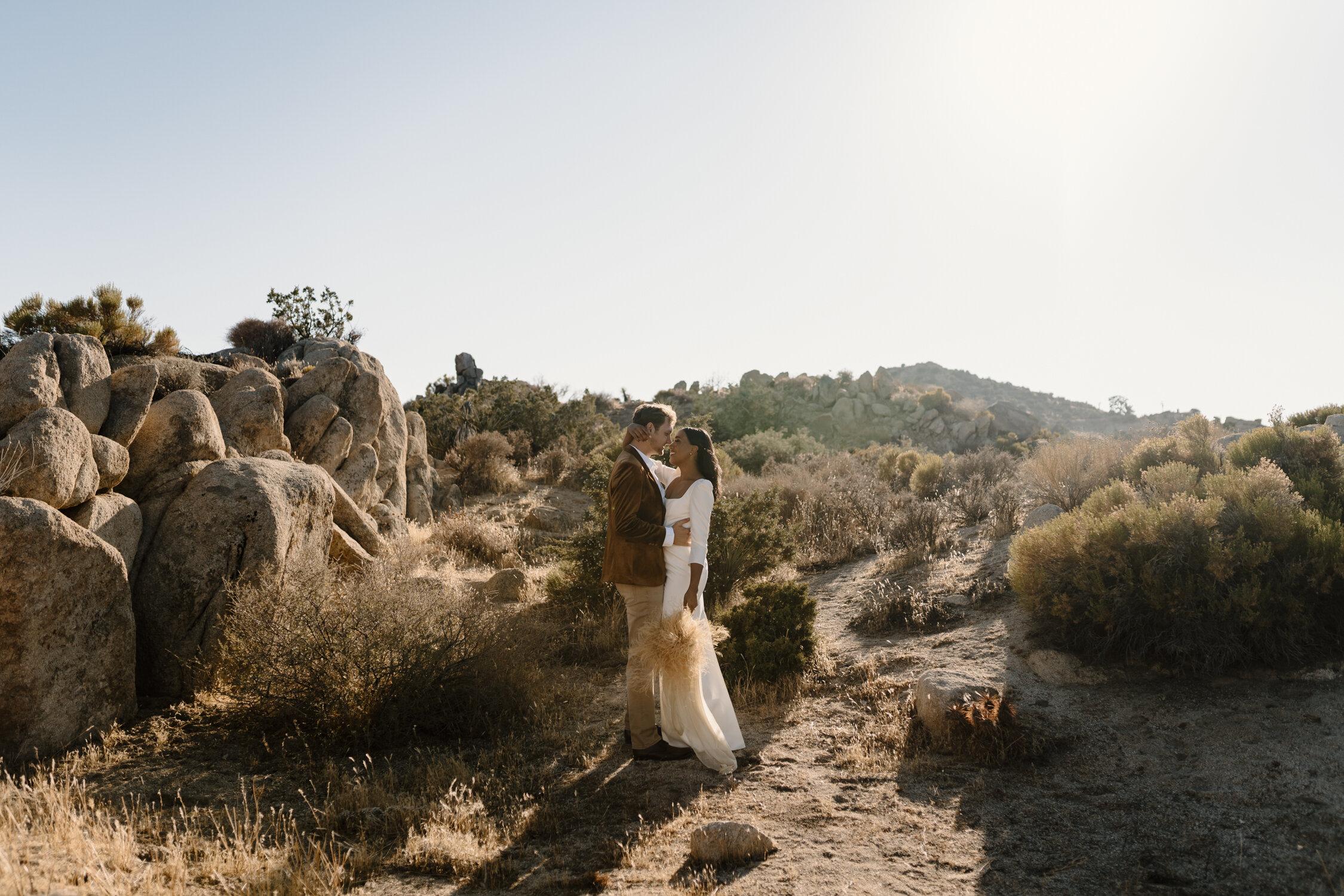Adventurous Joshua Tree, California Elopement | Kayli LaFon Photography