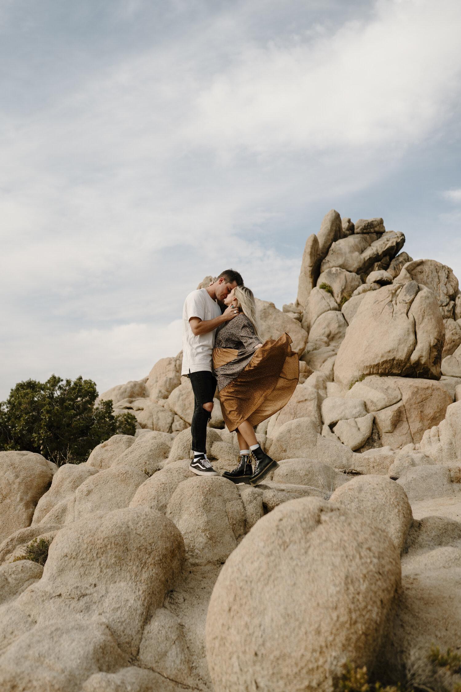 Fun, romantic couple session by Kayli LaFon Photography