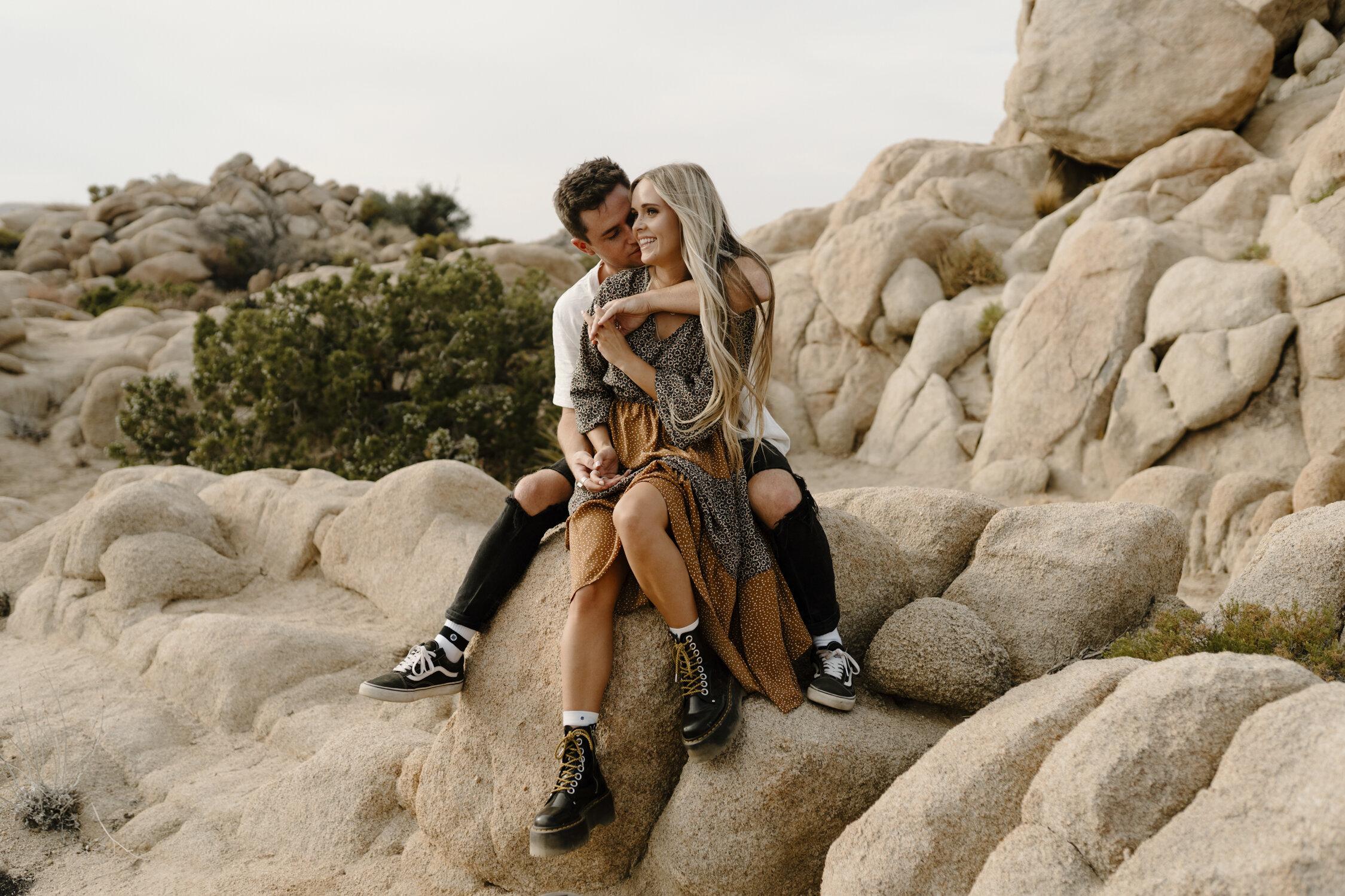 Intimate E-Session at Joshua Tree, California by Kayli LaFon Photography