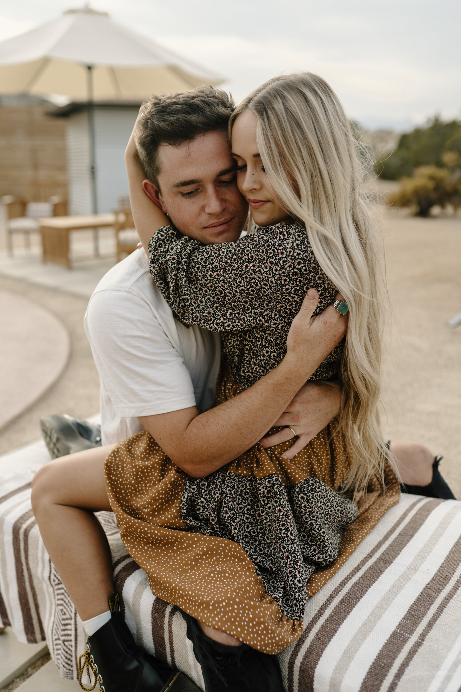 Intimate and Romantic engagement session in SoCal by Kayli LaFon Photography