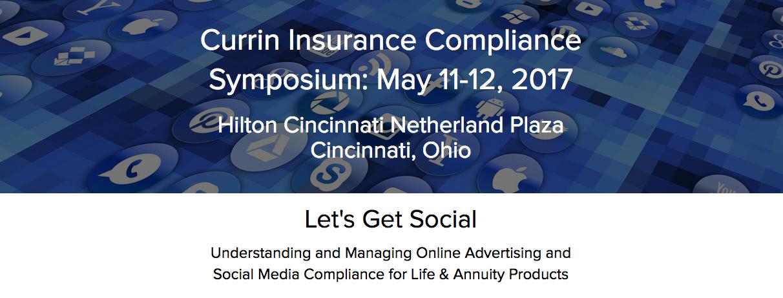Currin Insurance Compliance Symposium
