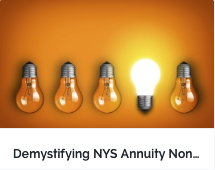 Demystifying NYS Annuity Nonforfeiture