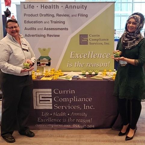 Margaret P. Jones and Wajiha Kazmi at AICP 2019