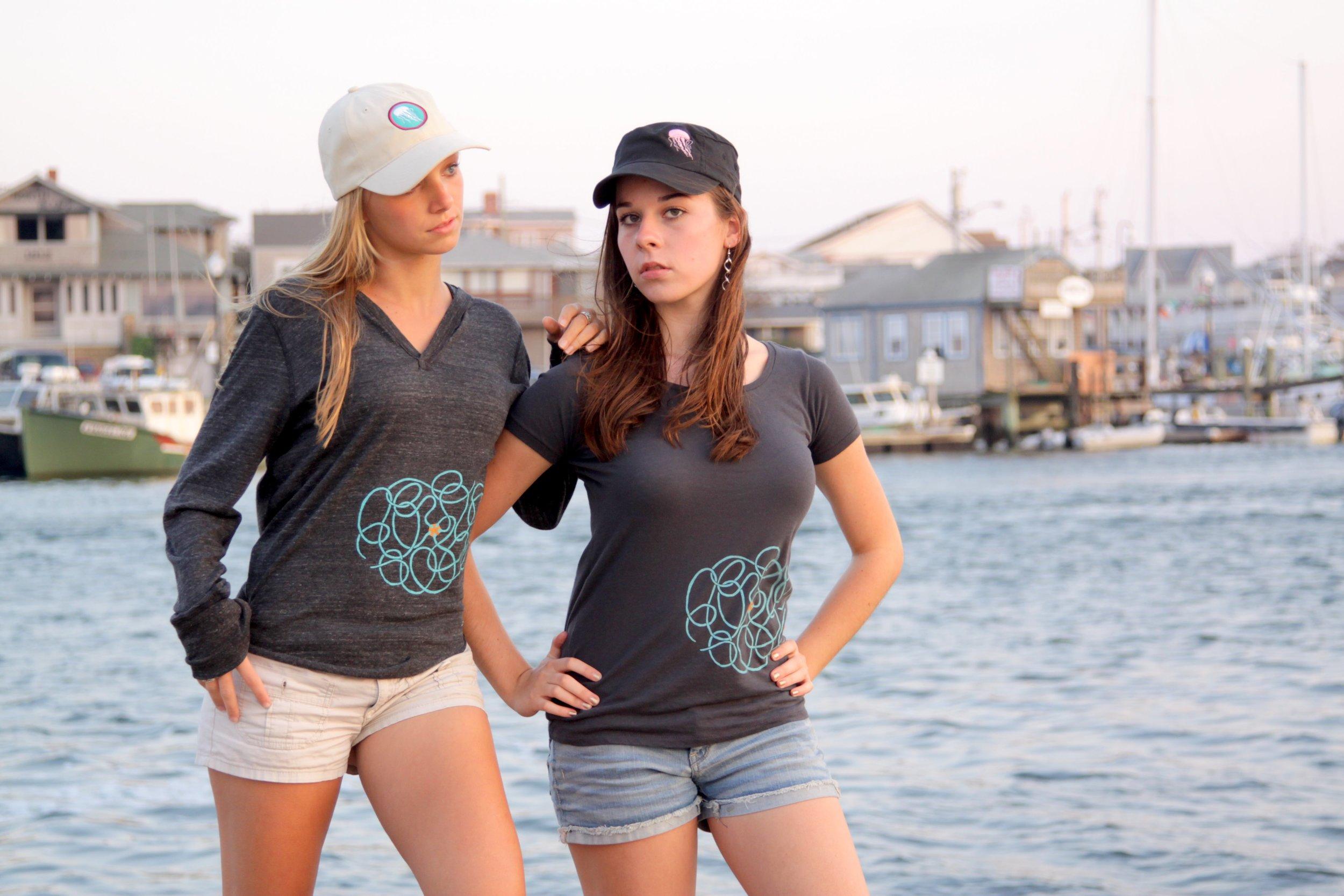 Our popular Serpent Star lightweight hoodie & organic cotton scoop neck t-shirt