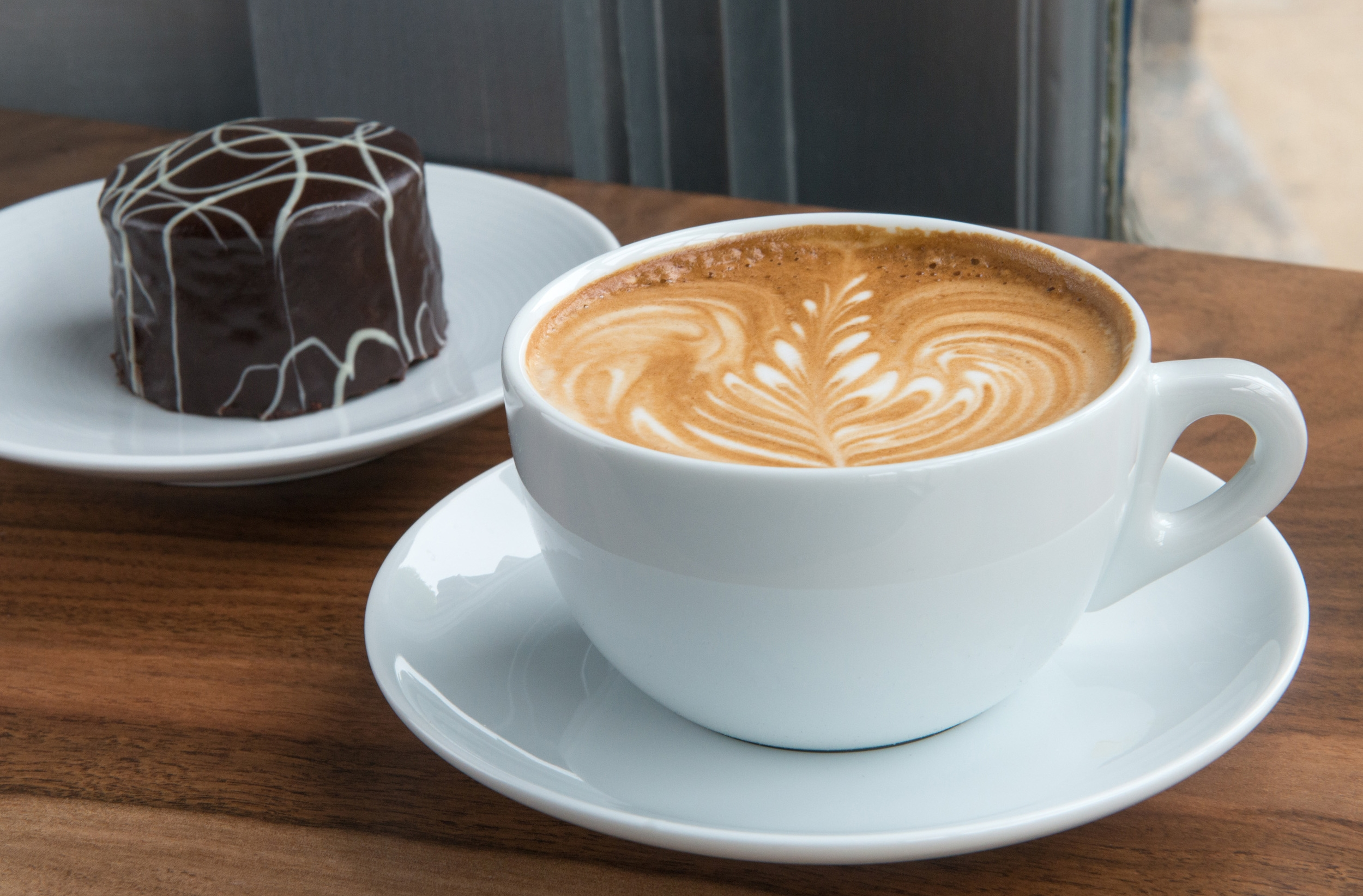 Caffe Latte from our Espresso Bar