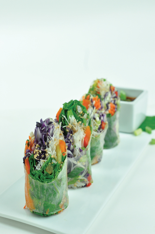 Chef's Summer Rolls   Photo by Charlie Utz