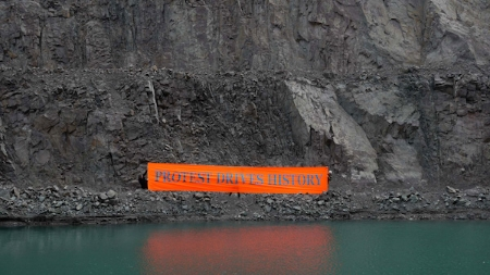 Freee Art Collective, 'Protest Drives History' (2008)