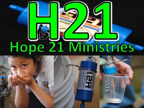 For more information on Hope21 Ministries or to donate a filter to a family in need, visit www.hope21ministries.com