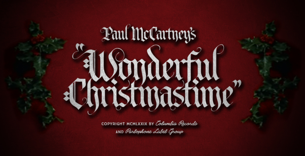 _360: Paul McCartney's Wonderful Christmastime | White Christmas