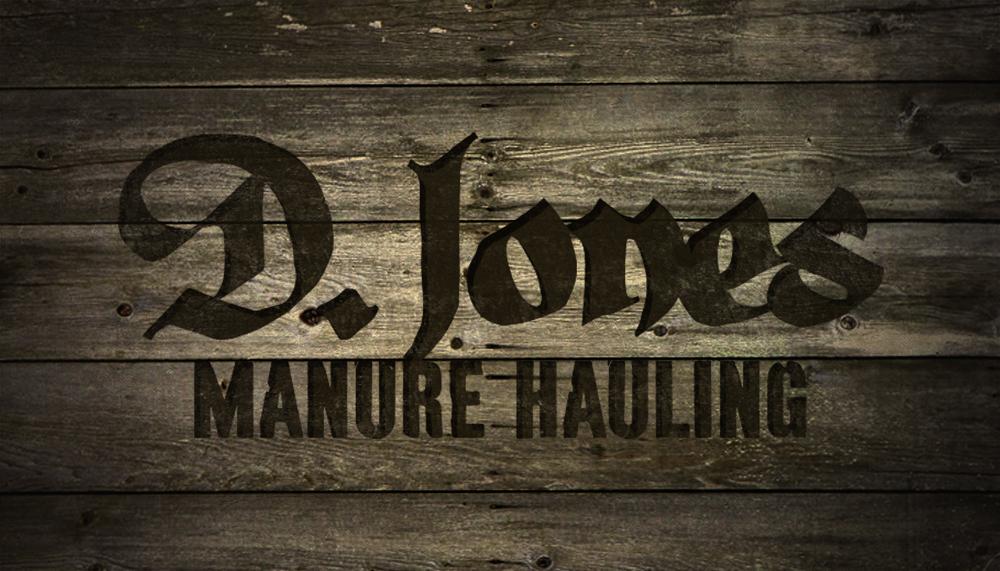 _285: D. Jones Manure Hauling