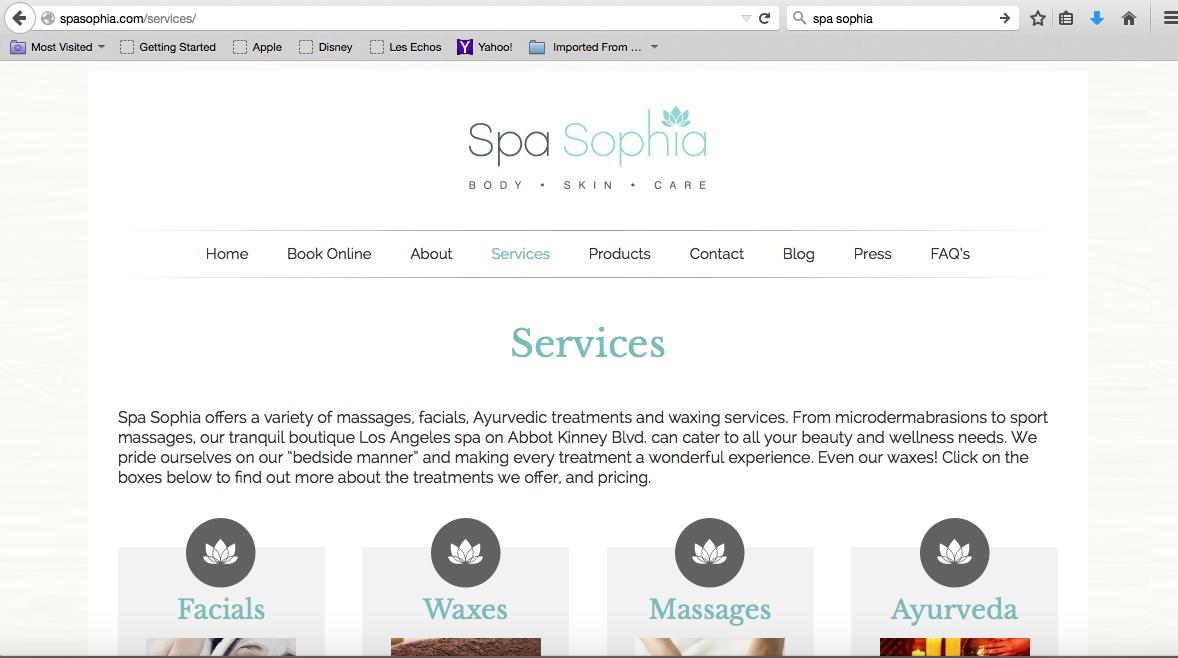 Spa Sophia