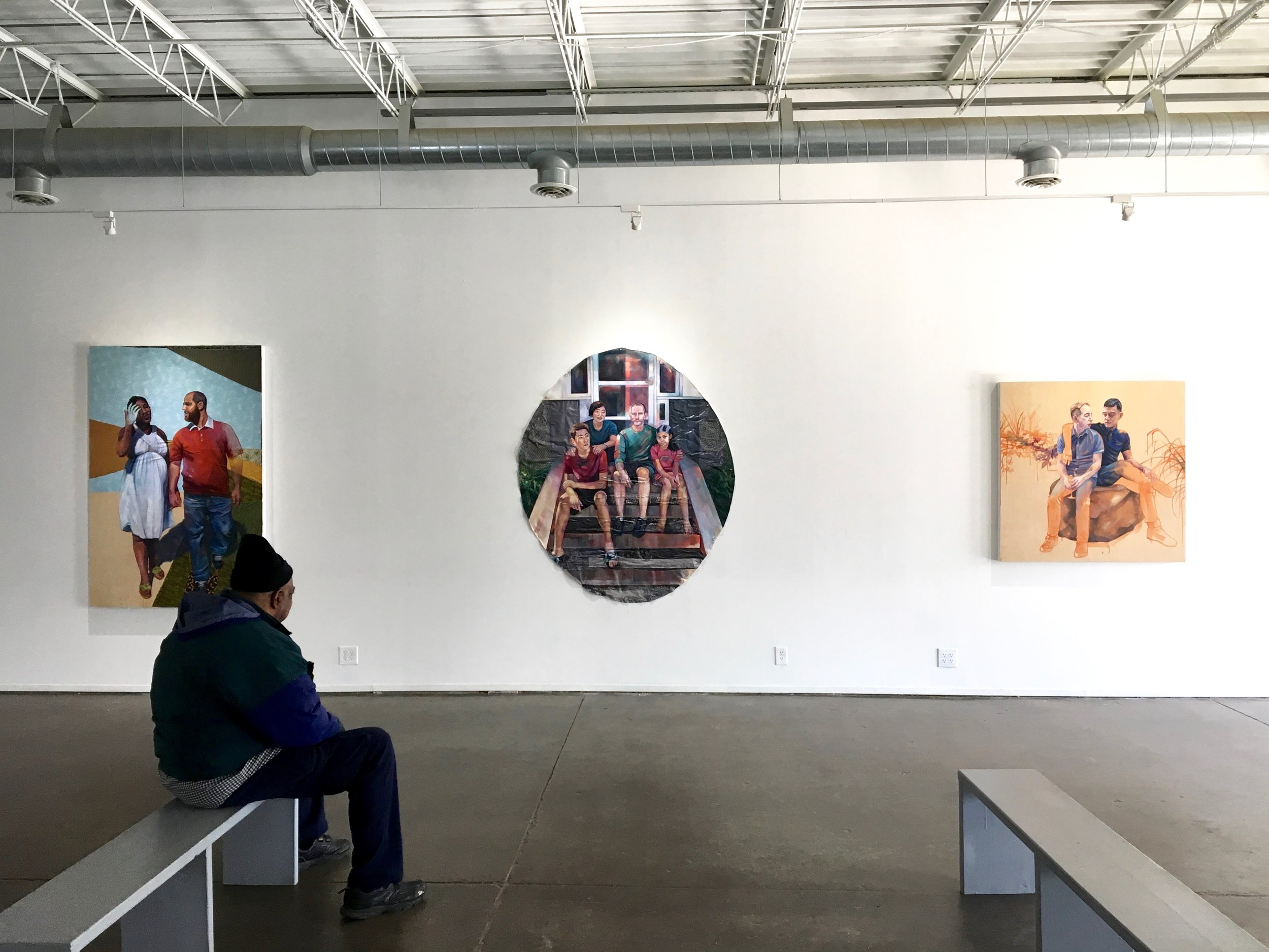 Installation view - Loving , Public Functionary, Minneapolis MN, 2017   Gallery Website