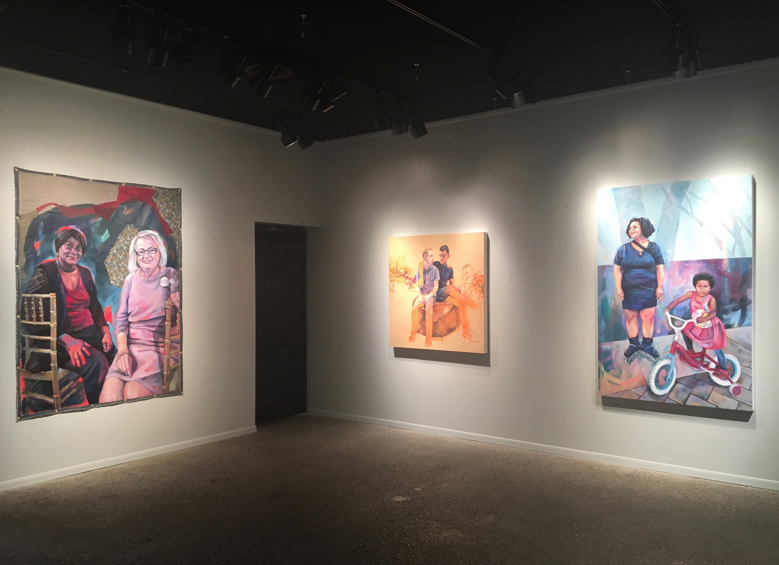 Installation view -  Space Between Us , Catherine G. Murphy Gallery, Saint Paul MN, 2017