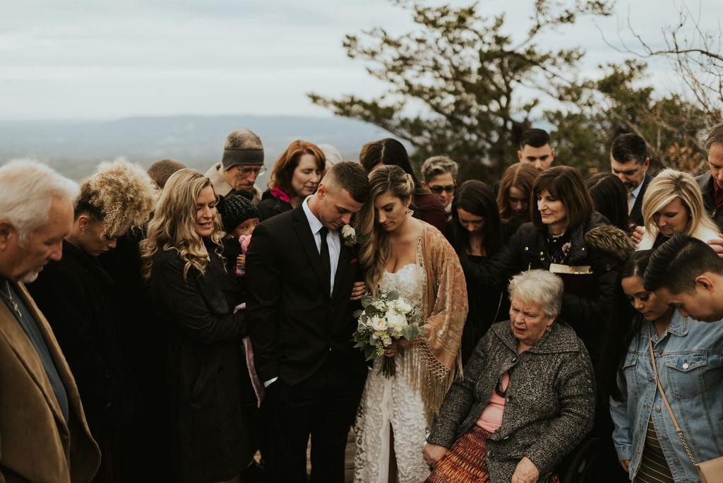 Boho Mountain Elopement in Alabama
