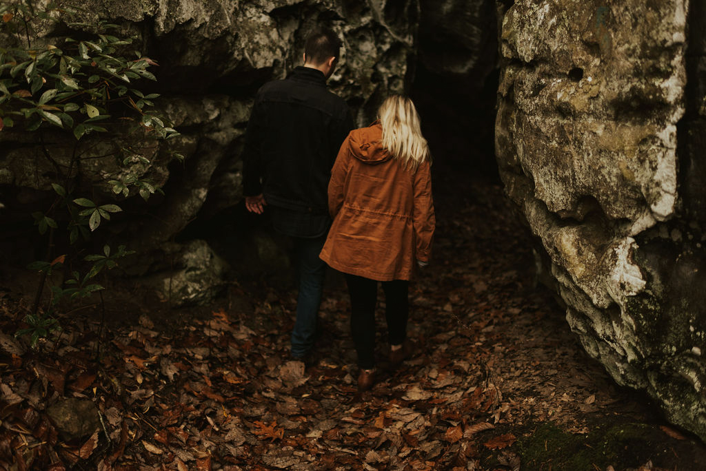 adventurous engagement session at a boulder field in alabama 03.jpg