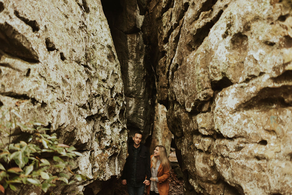 adventurous engagement session at a boulder field in alabama 04.jpg