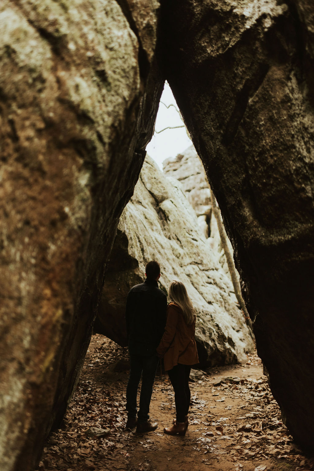 adventurous engagement session at a boulder field in alabama 07.jpg