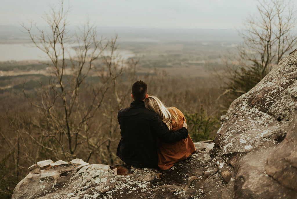 adventurous engagement session at a boulder field in alabama 28.jpg