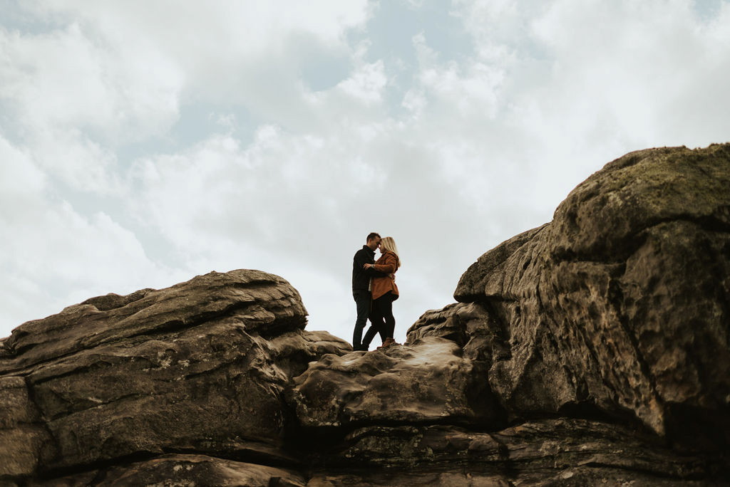 adventurous engagement session at a boulder field in alabama 33.jpg