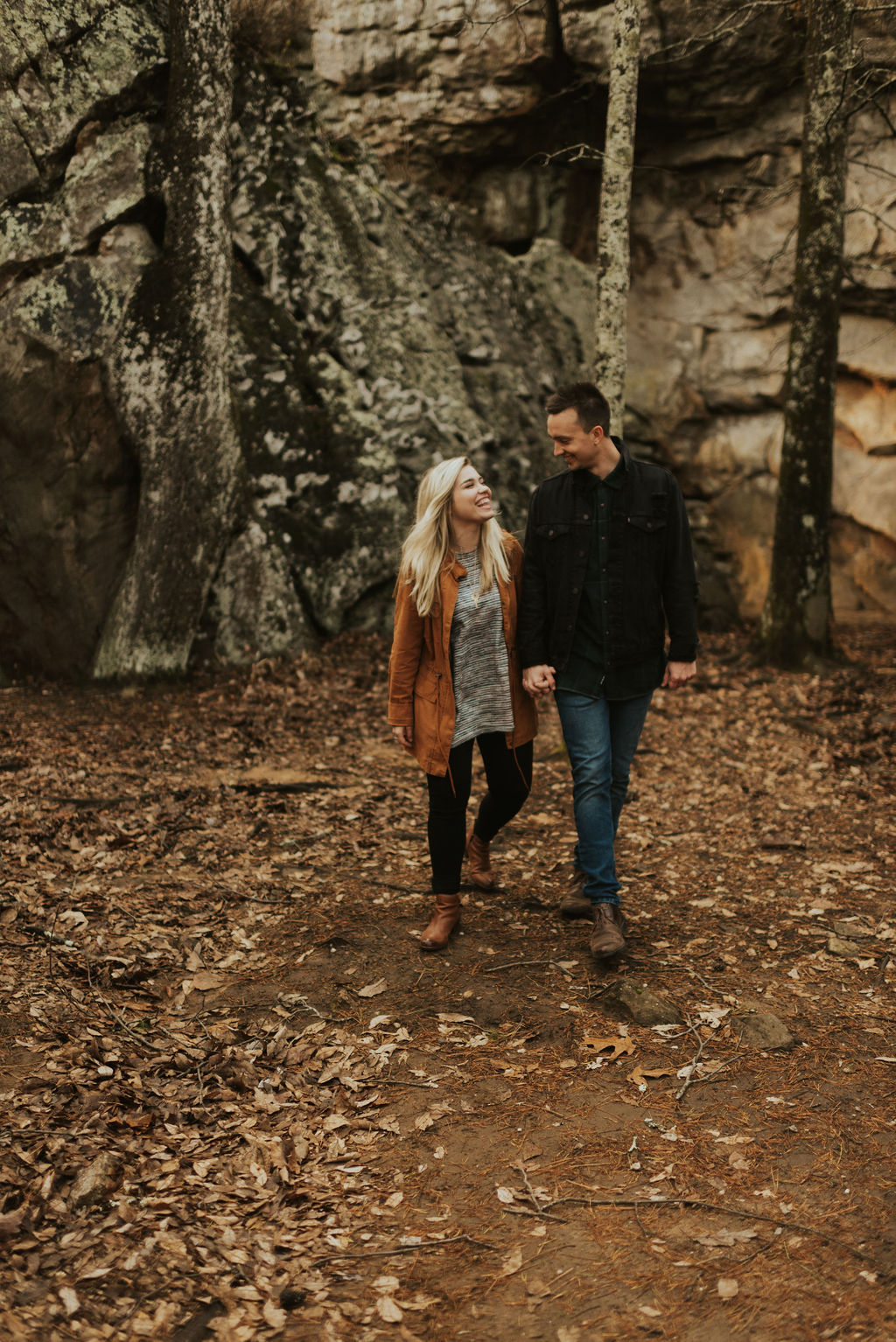 adventurous engagement session at a boulder field in alabama 37.jpg