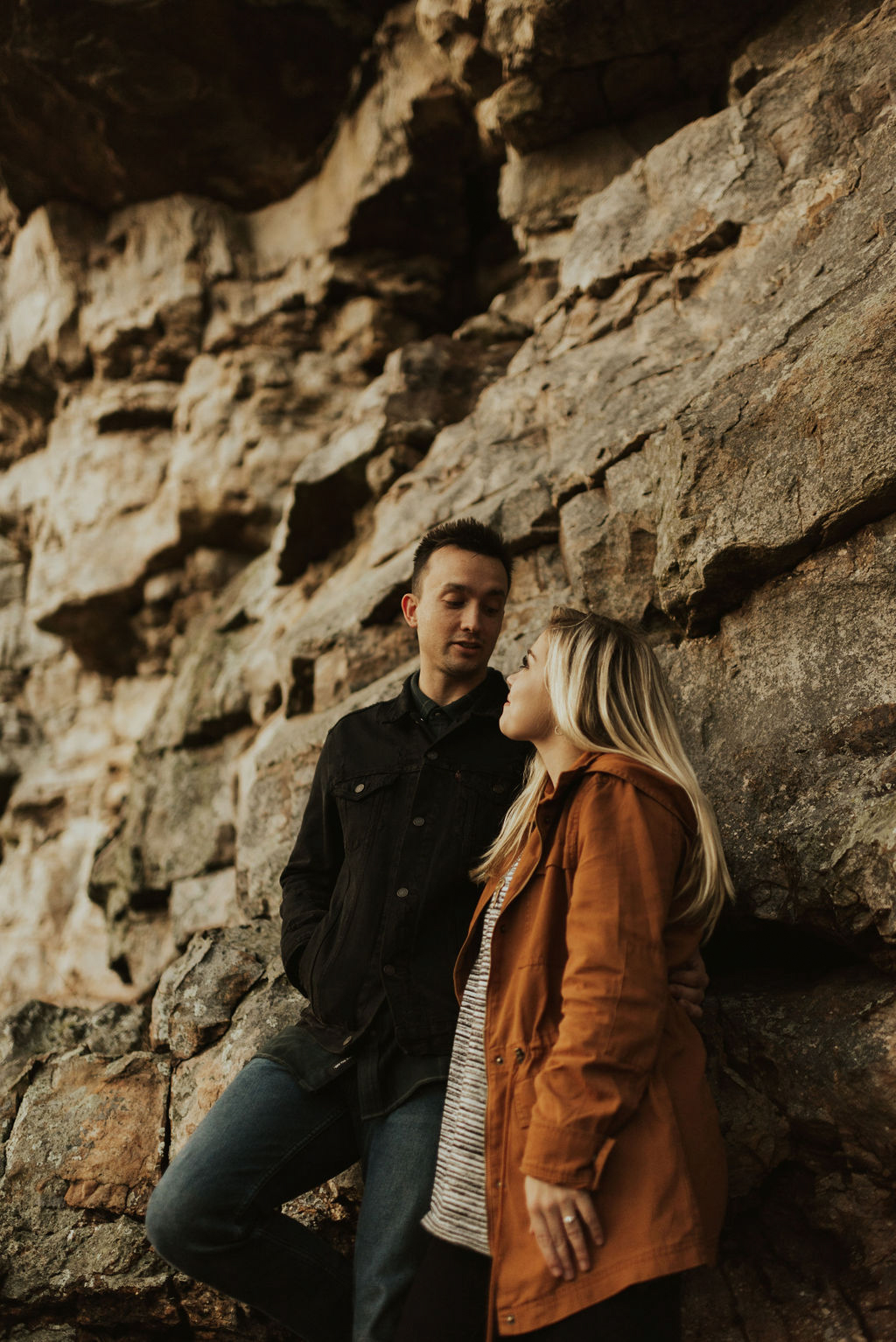 adventurous engagement session at a boulder field in alabama 62.jpg