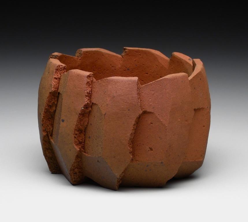 4. Jonathan Cross. Radial Fracture. 2010. Stoneware, applied oxide, salt-fired. 3.5%22x4.5%22x4.5%22..jpg