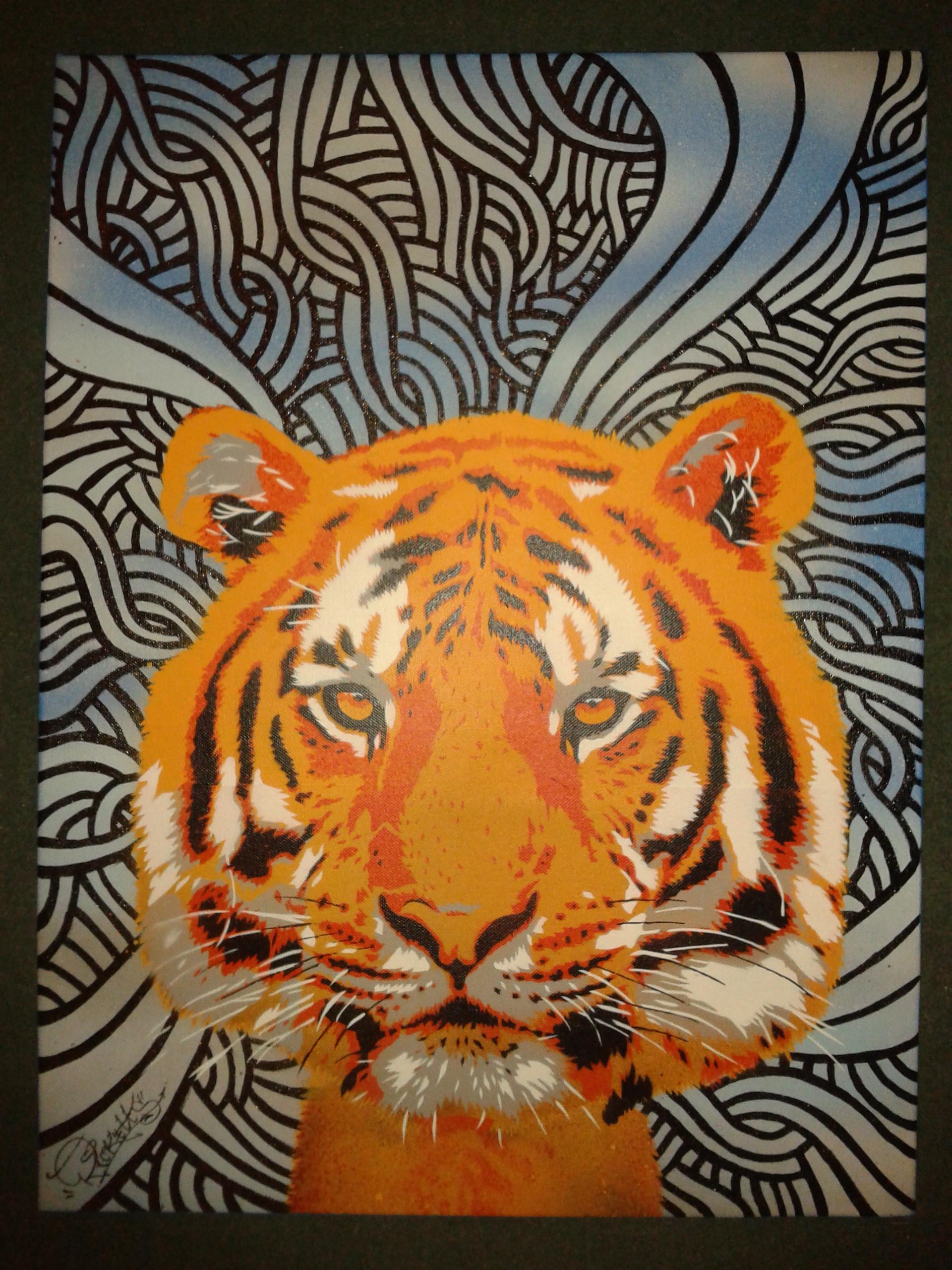 Tiger Canvas (2012)