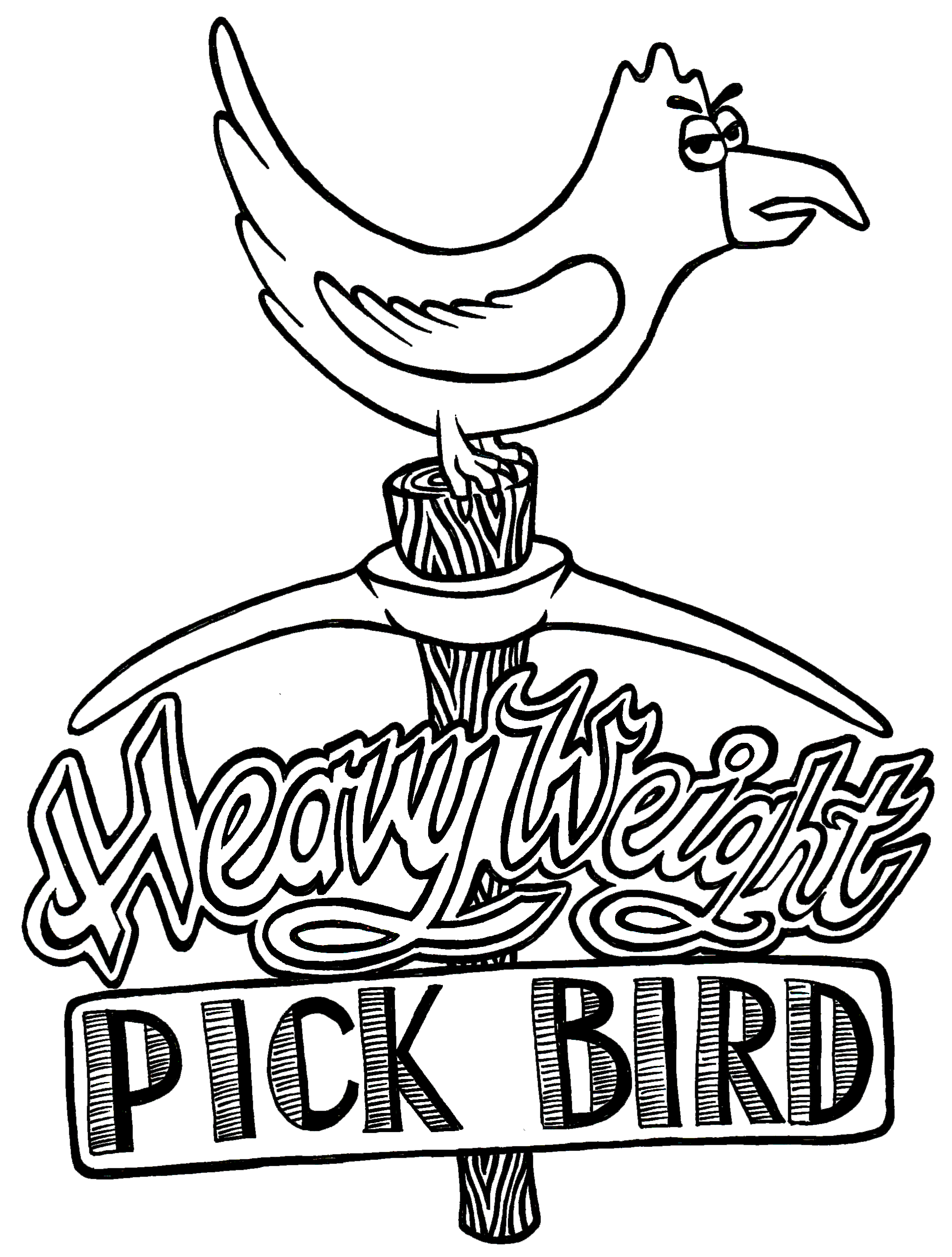 Heavyweight Pick Bird (2013)