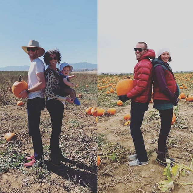 Pumpkin patchin' with the dudes. ❤️🥰😘😁 #oneyearlater