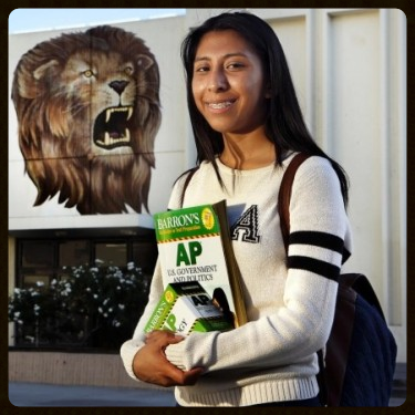 Miriam Antonio, Fairfax High School, Test Prep Gurus Scholarship Student