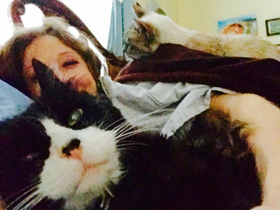 Family Portrait - A Typical Morning in the Cymes Household.